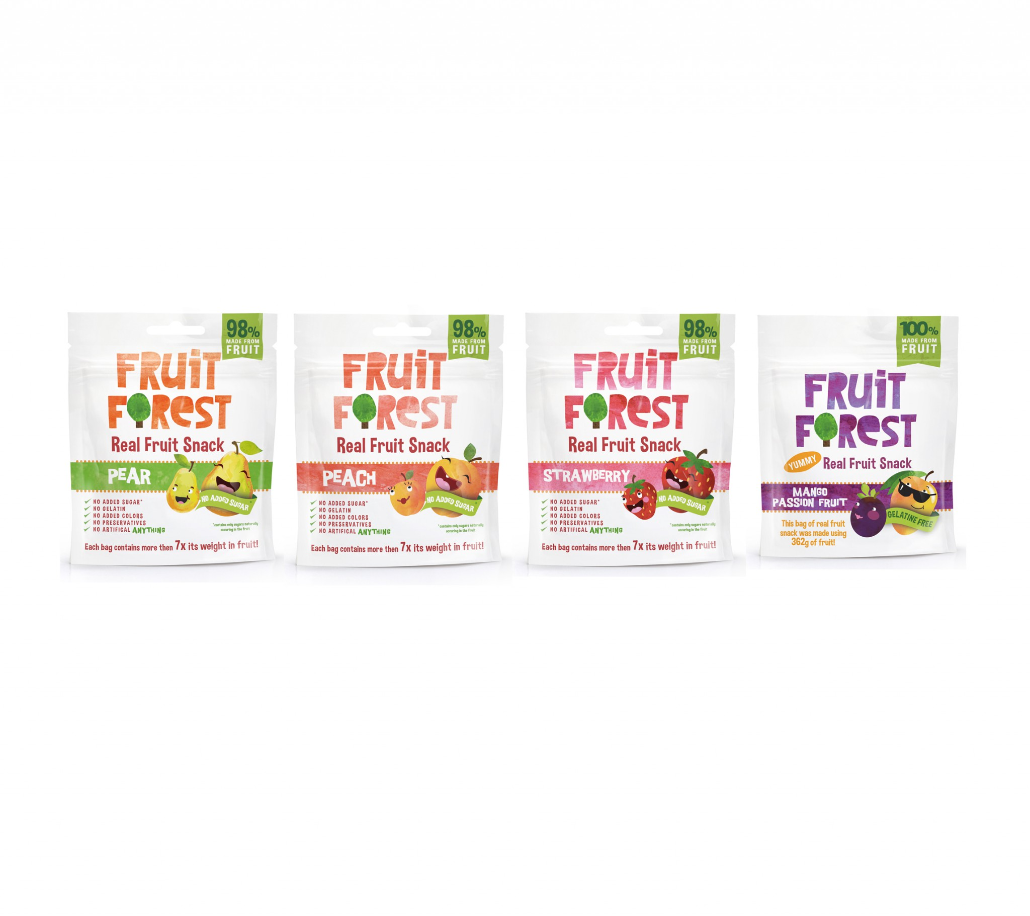 Snack de fruits (98% de fruits)