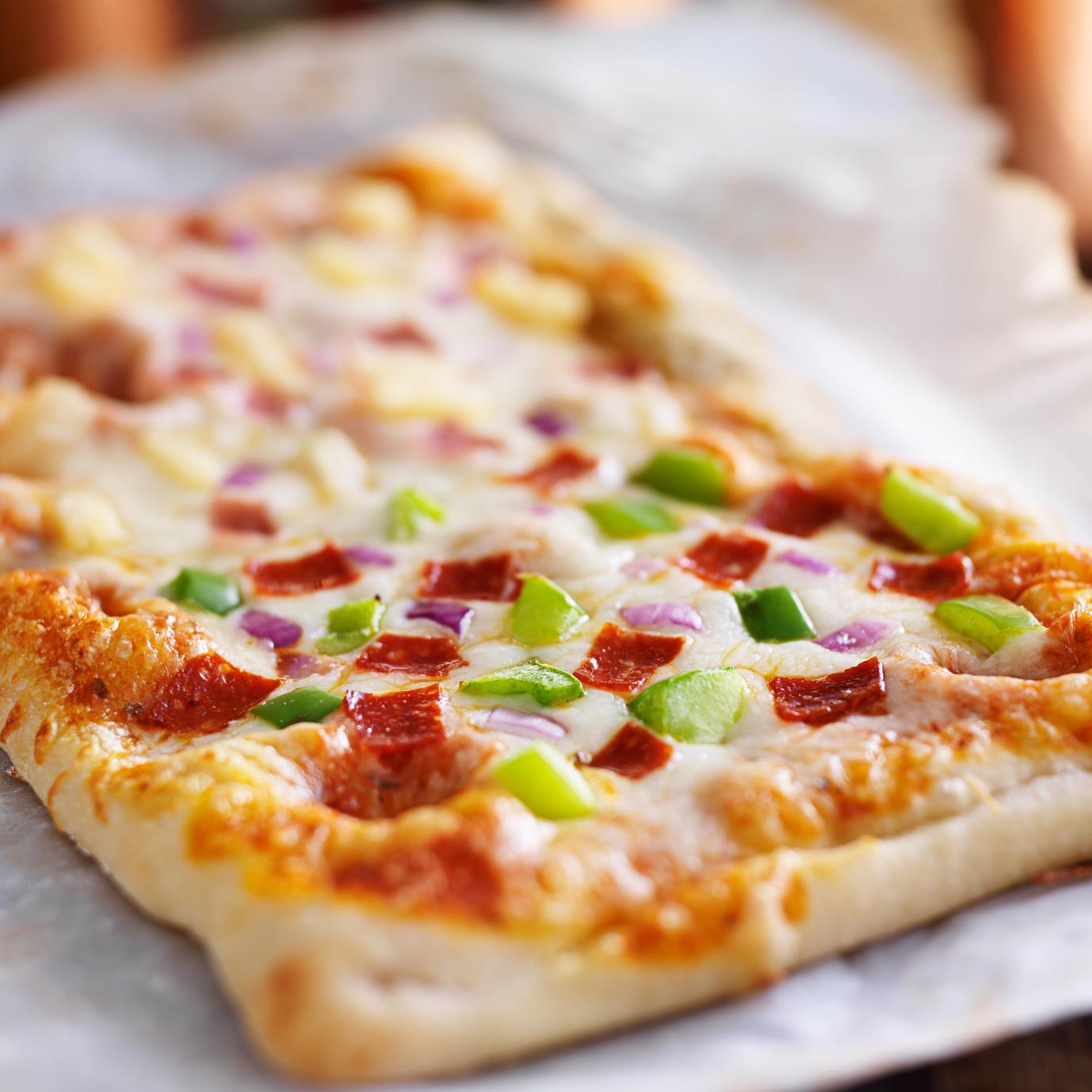Part de pizza individuelle